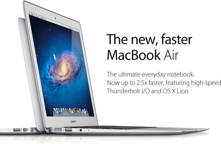 MacBook Air, Notebook